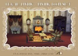 ts to ts regal living  living room set  sims  designs  sims