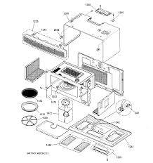 Ge model sca1000dcc03 microwave hood bo genuine parts