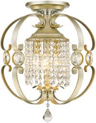 golden lighting 1323 sf wg ella white gold semi flush ceiling lighting fixture loading zoom