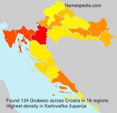 Grubesic - Names Encyclopedia