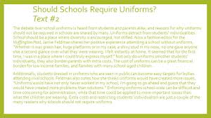 school uniform debate essay how to write a argumentative assey on  how to write a argumentative assey on school uniforms how to write an essay against school