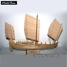 wooden ship models kits boats ship model kit sailboat educational toy model kit wood scale 1 148 chinese antique sailboat