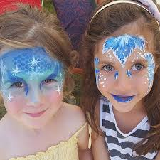 elsa party birthday frozen girls auckland face paint