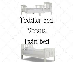 twin bed. Contemporary Bed When I Started Looking At The Pros And Cons Of Purchasing A Toddler Bed  Versus Twin Bed Answer Was Obvious Which One Worked Best For Our Family In Twin Bed
