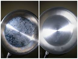 How To Clean Stainless Steal I Am Seeing White Cleaning Stainless Steel Pans A The Pearl Blog