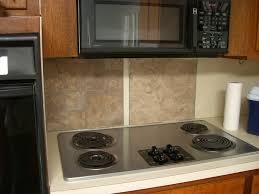 Vinyl Floor Tile Backsplash Home Kids Life A 20 Tacky Kitchen Backsplash