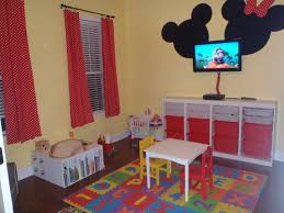 Mickey Mouse Bedroom Furniture Minnie Mickey Mouse Playroom Kids Room Pinterest Mickey
