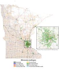 how does minnesota maintain its roads? twin cities Mn Highway Map map of every road in minnesota, by their classifications (pioneer press david mn highway map pdf