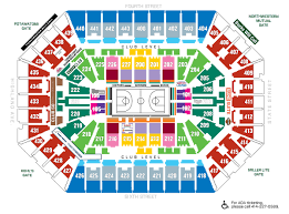 Bucks Seating Chart Milwaukee Bucks Map