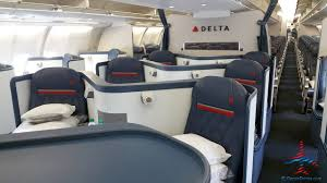 Delta One Business Class Seat Review A330 200 Renespoints Blog
