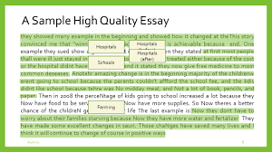 bea university of pittsburgh ppt video online  a sample high quality essay