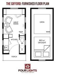 Small Picture 8 X 20 Tiny House Floor Plans Cottage Small Houses On Wheels Image