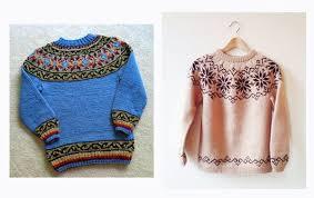 Знаменитый исландский <b>свитер</b> с круглой кокеткой Lopapeysa ...