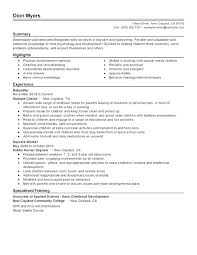 Daycare Worker Resume Gorgeous Resume For Child Care This Is Daycare Teacher Resume Childcare