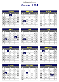 Calendar 2013 Template 2014 Yearly Calendar Template Canada Free Online Fillable