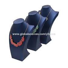 Jewelry Display Stand Manufacturers Beauteous China Leather Jewelry Necklace Bust Display Stand From Guangzhou