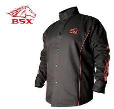 bsx fr cotton welding jacket bx9c