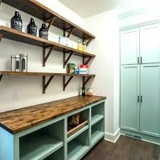 block shelves wall butcher block shelves wall black and white kitchen with plan open shelving ikea block shelves wall