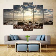 sea stone beach split canvas prints wall art paintings colormix 1pc 12 31 on intelligent design 2 piece sweet florals canvas wall art set with 2018 sea stone beach split canvas prints wall art paintings colormix