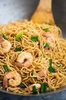 asian shrimp and pasta