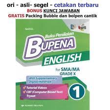 Kunci jawaban biologi mandiri byadmin: New Buku Bupena Bahasa Inggris Sma Kelas 10 X K13 Shopee Indonesia