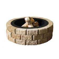 35 In Round Fire Pit InsertDS16905 At The Home Depot 70  DIY Home Depot Fire Pit