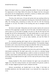 Essays Examples Best Narrative Essay An Essay On Natural Disasters