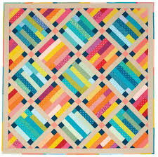 546 best Strip quilts images on Pinterest | Attic, Ceilings and Charts & Belle Prairie Quilt - Fons & Porter Adamdwight.com