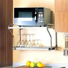 microwave wall mount shelf microwave oven wall mount simple decoration microwave wall mount shelf stainless steel microwave wall mount