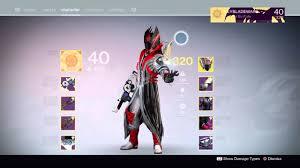Destiny 1 Max Light Destiny Finally 320 Max Light Level On My Warlock