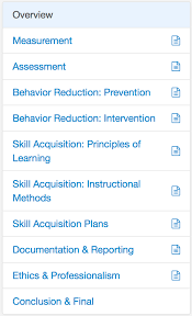 behavior list registered behavior technician rbt 40 hr course 97 eliademy