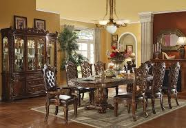 traditional dining chairs incredible vendome table set interior design 5