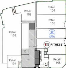 Bathroom Plan Fitness Artemis Office