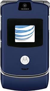 motorola razr flip phone blue. motorola razr v3 blue prepaid gophone (at\u0026t) with $35 airtime included razr flip phone