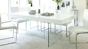 glass and oak dining table modern white oak dining table glass legs seats 6 8 room glass and oak dining table