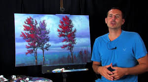 free full length unique landscape painting lesson by tim gagnon watch now