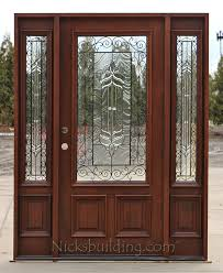 front doors with side lightsExterior Doors with 2 Sidelights