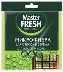 Купить <b>Салфетка</b> для стекол и зеркал <b>Master FRESH</b> ...