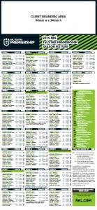 Afl Tipping Chart 2018 Printable Nrl Draw 2018 Printable Imgbos Com
