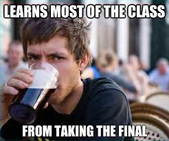 Lazy College Senior memes | quickmeme via Relatably.com