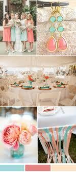 Coral Color Combinations Spring Summer Wedding Color Ideas 2017 From Pantone Island