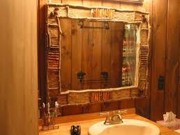 Rustic Bathroom Mirrors Design