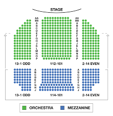Hayes Theater Seating Chart Helen Hayes Theatre Large Broadway Seating Charts