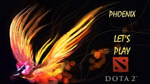 dota 2 phoenix all powers and full match let s play with