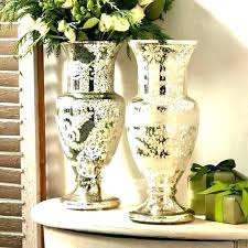large gold mercury glass vases vase etched pottery barn zoom
