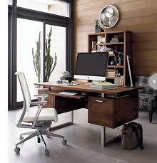 Manly office decor image small stlye Apartment Masculinehomeofficedeskjpg Styleathome Howto Create Masculine Home Office Style At Home