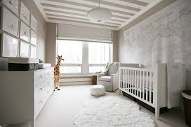 chicago restoration hardware baby bassinet nursery transitional with