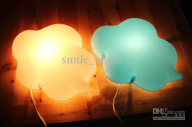 ikea childrens lighting. Hot Wall Lamp Cartoon Clouds Light Children Indoor Lights Decorative Lamps Bed Night Novelty Baby Ikea Childrens Lighting L