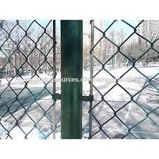 china garden fence rhombic mesh low