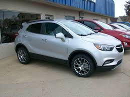 buick encore silver. 2017 buick encore sport touring awd 4dr crossover silver